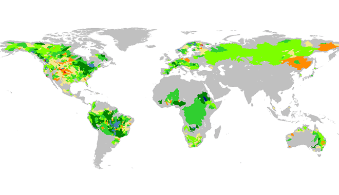 Global Flood Awareness System – global ensemble streamflow